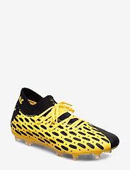 PUMA - FUTURE 5.2 NETFIT FG/AG - fodboldsko - ultra yellow-puma black - 0