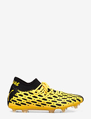 PUMA - FUTURE 5.2 NETFIT FG/AG - fodboldsko - ultra yellow-puma black - 1