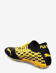 PUMA - FUTURE 5.2 NETFIT FG/AG - fodboldsko - ultra yellow-puma black - 2