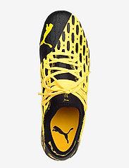 PUMA - FUTURE 5.2 NETFIT FG/AG - fodboldsko - ultra yellow-puma black - 3