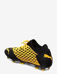 PUMA - FUTURE 5.4 FG/AG - jalkapallokengät - ultra yellow-puma black - 2