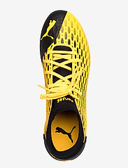 PUMA - FUTURE 5.4 FG/AG - jalkapallokengät - ultra yellow-puma black - 3