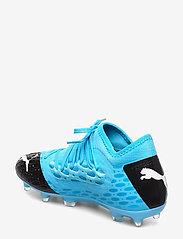 PUMA - FUTURE 5.3 NETFIT FG/AG Jr - buty sportowe - luminous blue-nrgy blue-puma black- - 2