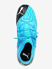 PUMA - FUTURE 5.3 NETFIT FG/AG Jr - buty sportowe - luminous blue-nrgy blue-puma black- - 3