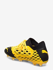PUMA - FUTURE 5.3 NETFIT FG/AG Jr - buty sportowe - ultra yellow-puma black - 2