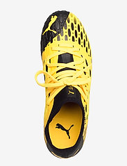 PUMA - FUTURE 5.3 NETFIT FG/AG Jr - buty sportowe - ultra yellow-puma black - 3