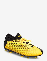 PUMA - FUTURE 5.4 FG/AG Jr - buty piłkarskie - ultra yellow-puma black - 0