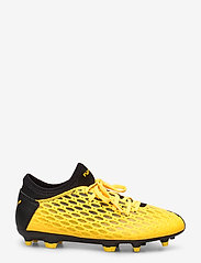 PUMA - FUTURE 5.4 FG/AG Jr - buty piłkarskie - ultra yellow-puma black - 1