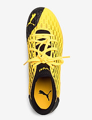PUMA - FUTURE 5.4 FG/AG Jr - buty piłkarskie - ultra yellow-puma black - 3