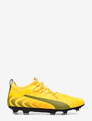 PUMA - PUMA ONE 20.2 FG/AG - fodboldsko - ultra yellow-puma black-orange aler - 1