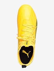 PUMA - PUMA ONE 20.2 FG/AG - fodboldsko - ultra yellow-puma black-orange aler - 3