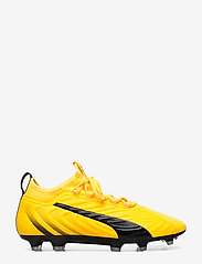 PUMA - PUMA ONE 20.3 FG/AG - jalkapallokengät - ultra yellow-puma black-orange aler - 1