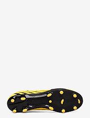 PUMA - PUMA ONE 20.4 FG/AG - jalkapallokengät - ultra yellow-puma black-orange aler - 4