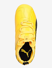 PUMA - PUMA ONE 20.3 FG/AG Jr - buty sportowe - ultra yellow-puma black-orange aler - 3