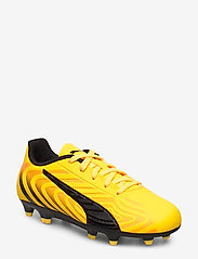 PUMA - PUMA ONE 20.4 FG/AG Jr - buty sportowe - ultra yellow-puma black-orange aler - 0