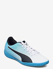 PUMA - Rapido II IT - fodboldsko - luminous blue-puma white-puma black - 0
