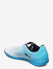PUMA - Rapido II IT - fodboldsko - luminous blue-puma white-puma black - 2