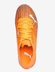 PUMA - ULTRA 2.1 FG/AG - fodboldsko - shocking orange-puma black - 3
