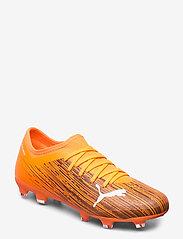 PUMA - ULTRA 3.1 FG/AG - fodboldsko - shocking orange-puma black - 0