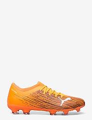 PUMA - ULTRA 3.1 FG/AG - fodboldsko - shocking orange-puma black - 1