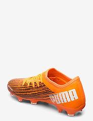 PUMA - ULTRA 3.1 FG/AG - fodboldsko - shocking orange-puma black - 2