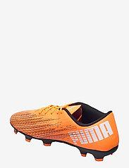 PUMA - ULTRA 4.1 FG/AG - fodboldsko - shocking orange-puma black - 2