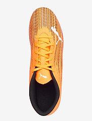 PUMA - ULTRA 4.1 FG/AG - fodboldsko - shocking orange-puma black - 3