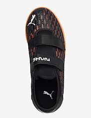 PUMA - FUTURE 6.4 IT V Jr - sportschuhe - puma black-puma white-shocking oran - 3