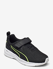 PUMA - Comet 2 FS V PS - schuhe - puma black-fizzy yellow-puma white - 0