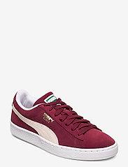 PUMA - Suede Classic+ - låga sneakers - cabernet-white - 0