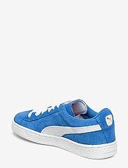 PUMA - Suede Jr - tenisówki - snorkel blue-white - 2