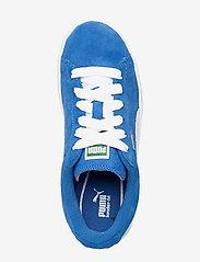 PUMA - Suede Jr - tenisówki - snorkel blue-white - 3