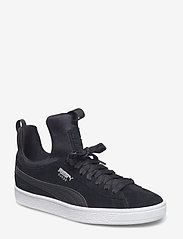 PUMA - Suede Fierce Wn's - matalavartiset tennarit - puma black-puma black - 0