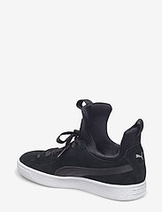 PUMA - Suede Fierce Wn's - matalavartiset tennarit - puma black-puma black - 2
