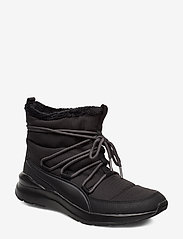 PUMA - Adela Winter Boot - flat ankle boots - puma black-bridal rose - 0