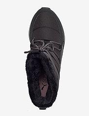 PUMA - Adela Winter Boot - flat ankle boots - puma black-bridal rose - 3