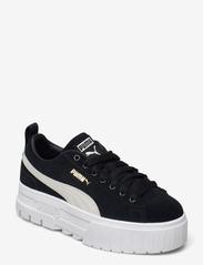 PUMA - Mayze Wn's - baskets épaisses - puma black-puma white - 1