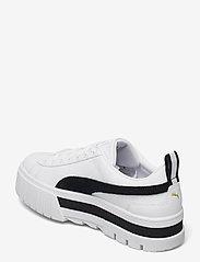PUMA - Mayze Lth Wn's - baskets épaisses - puma white-puma black - 3