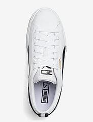 PUMA - Mayze Lth Wn's - baskets épaisses - puma white-puma black - 4
