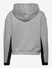 PUMA - Train Favorite Fleece Full Zip Hoodie - hupparit - medium gray heather - 1