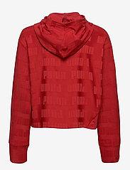 PUMA - Train First Mile Mono Hoodie - hoodies - red dahlia - 1
