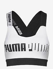 PUMA - Mid Impact Feel it Bra - urheiluliivit: medium tuki - puma white - 0