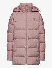 PUMA - Long Down Jacket G - dunjakker & forede jakker - peachskin - 0