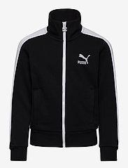 PUMA - Classics T7 Track Jacket G - sweatshirts - puma black - 0