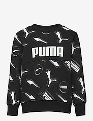 PUMA - Alpha AOP Crew TR B - sweatshirts - puma black - 0
