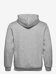 PUMA - ESS Big Logo Hoodie FL - huvtröjor - medium gray heather - 1