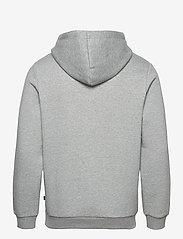 PUMA - ESS Small Logo Hoodie FL - huvtröjor - medium gray heather-cat - 1