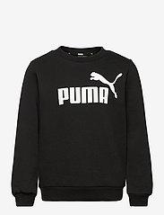 PUMA - ESS Big Logo Crew FL B - sweatshirts - puma black - 0