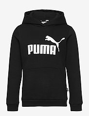 PUMA - ESS Logo Hoodie FL G - huvtröjor - puma black - 0