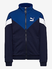 PUMA - Iconic MCS Track Jacket TR B - sweatshirts - peacoat - 0